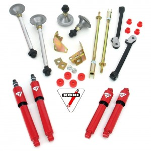 Performance Handling Kit with Koni shock absorbers