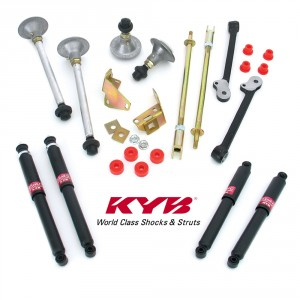 Performance Handling Kits with KYB GAS shock absorbers