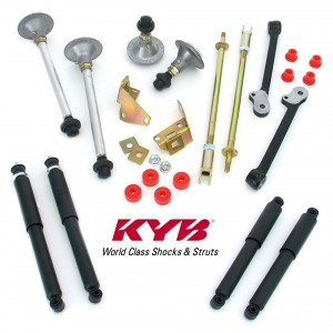 Performance Handling Kits with KYB Oil shock absorbers