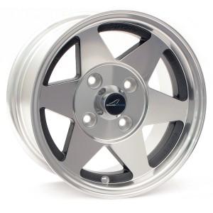 6 x 12 Starmag Alloy Wheel - Diamond/ Black