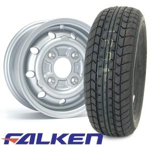 "4.5 x 10"" Cooper S Replica Silver - Falken FK07E Package"