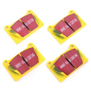 Yellow Stuff Pad Set - Mini Sport Alloy Calipers