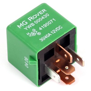 Relay - Green type - cooling fan/horn - 5 pin