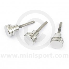 SPI/MPI Air Filter Buttons - Stainless Steel
