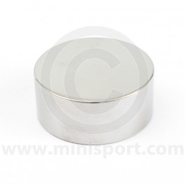 Brake or Clutch Cap Tops- Stainless Steel