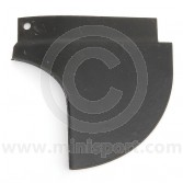 MCR21.42.01.03 Left side rear valance closing panel for all Mini Van, Traveller and Pick-up