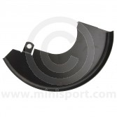 "21A2618 Left side lower brake disc shield for Mini models 1984 to 2001 fitted with the 8.4"" brake discs (GDB90806)"