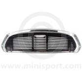 Mini Mk2 67-01 11 Bar Black Grille Kit