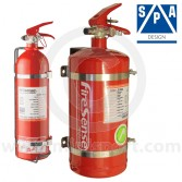 4.0 Ltr Steel Mechanical + 2.4 Ltr Hand Held Extinguisher Kit