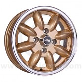 5 x 13 Minilight Wheel - Gold/Polished Rim