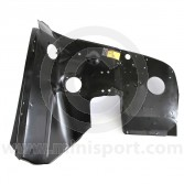 ABD36006 Complete RH inner wing for Mini 1969 to 2006 including 1.3 SPi & MPi models