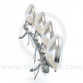Stainless Works Style Lamp Bar Kit