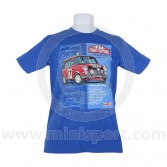 Paddy Hopkirk 33 EJB T Shirt - Royal Blue Medium
