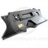 AHA36006 Toeboard complete assembly with steering rack brackets for all Mini models 1990-2001.