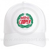 Mini Cooper White Baseball Cap by MINI
