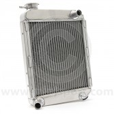 Radiator - 2 Core SuperCool - High flow - Alloy - Front Overflow