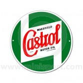 Metal Classic Castrol sign