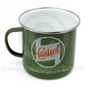 Castrol Classic Enamelled Tin Mug
