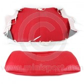 Cobra Rear Seat Cover - Red Vinyl COBRSC02