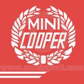 John Cooper Styling Kit - Laurels & Side Stripes - White