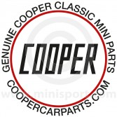 Cooper 90mm Sticker