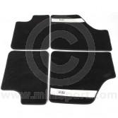 MCPIS.CM-SS Cooper Signature Stripe Black Mini Carpet Mat