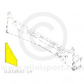 MCR11.21.00.88 RH Inner wing rear repair - Mini Mk1, Van & Pick-Up