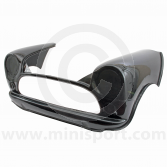 Carbon Fibre Flip Front - Removable Bonnet Type