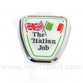 DAB101130 Mini Italian Job Bonnet Badge