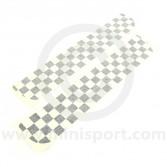 Boot Stripes - Black Chequer Cut DECBOSCHEQB