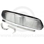 DHB10151 Mini Cooper 8 Bar external bonnet release grille kit, to fit all models 1967on.