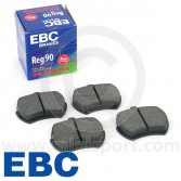 """EBC Standard Pad Set - Mini 8.4"""" Discs"""