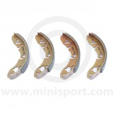 GBS733MIN Mintex standard Mini front brake shoe set
