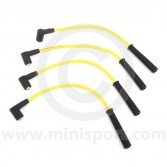 Yellow - 7mm Silicone Spark Plug Lead Set 97-01