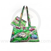 Cotton Green Handbag and purse combo with Classic Mini design