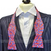 Silk Bow Tie Self-Tie With Union Jack design