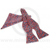 Self-Tie Bow Tie & Pocket Square in Union Jack Design