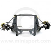 HMP241001 Genuine Mini front subframe assembly for Mini 1275cc and 1.3 SPi manual models, built & ready to fit.