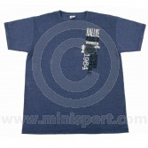 Paddy Hopkirk Monte Carlo Celebration T Shirt in Heather Navy