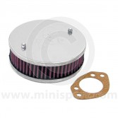 K&N Air Filter - HS6 Carb 44mm - Offset Hole