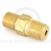 Oil Pipe Adaptor - 1/8BSP cone to 1/8NPT