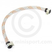 Stainless Braided Fuel Hose - 12''x1/4'' ID