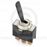 Toggle Switches - On/Off/On - Plastic