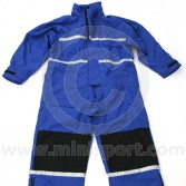 Mechanics RallyPro Waterproof Blue Overalls - Large