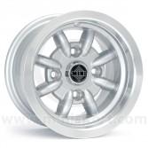 Minator 6'' x 10'' Alloy Wheel - Silver