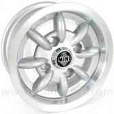 Minator 5'' x 10'' Alloy Wheel - Silver