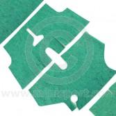 MOT4003 Carpet underlay, sound insulation kit for Mini Estate models.