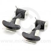 Mini bonnet hooks - rubber