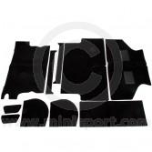 MOT1000 Mini Deluxe Carpet Set - Black - Estate