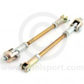 MSLMS0518 Mini Sport Group A rose jointed suspension tie rods pair
